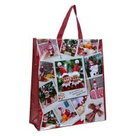 See more information about the Elves Behavin' Badly Elf Collage Woven Bag