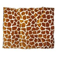 See more information about the Pet Bed - 90x70cm Polar Fleece - Brown Animal Print