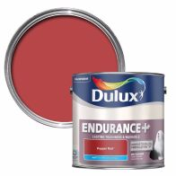 See more information about the Dulux Pepper Red Matt 2.5L Endurance Paint