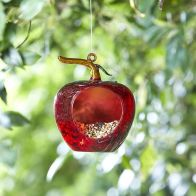 See more information about the Apple Hanging Glass Feeder