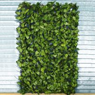 See more information about the Artificial Birch Leaf Extendable Trellis Panel 1m x 2m