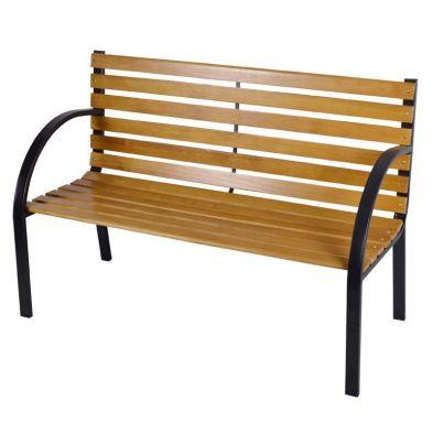 12 Slats Wooden Bench