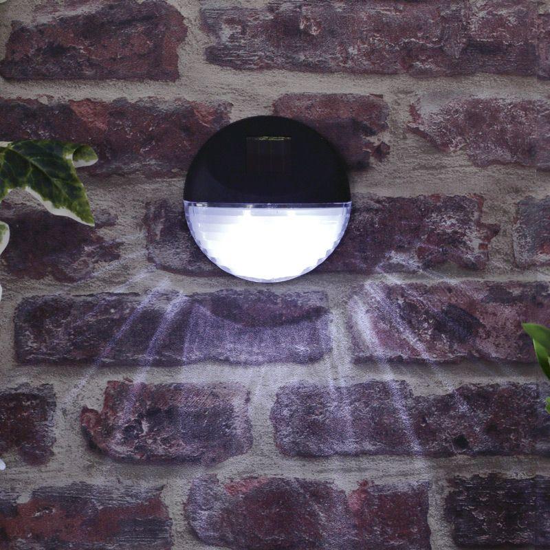 Bright Garden Solar Wall Light 11cm Buy Online At Qd Stores