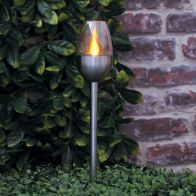 See more information about the Bright Garden Solar Torch Flame Stake Light