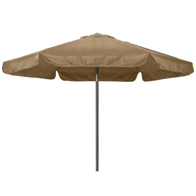 Croft 2.2M Bronze Aluminium Garden Three Position Tilt Parasol