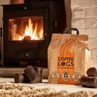 See more information about the Bio-Bean Coffee Logs 16 Winter Fuel Logs Made From Recycled Coffee