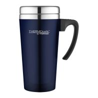 See more information about the Thermos Translucent Travel Mug (420ml) - Blue