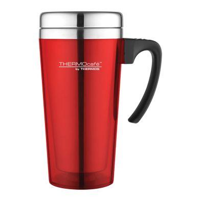 Translucent Travel Mug (420ml) - Red