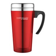 See more information about the Thermos Translucent Travel Mug (420ml) - Red