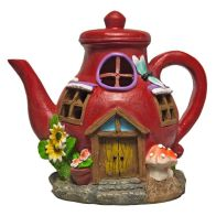 See more information about the Magical Garden Solar Powered Woodland Novelty House - Teapot