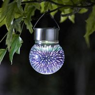 See more information about the Bright Garden Solar Hanging 3D Cosmos Globe