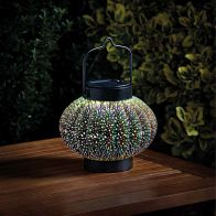 See more information about the Bright Garden Hanging Solar 3D Cosmos Lantern