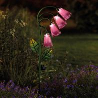 See more information about the Bright Garden Solar Foxglove Solar Flower Stake