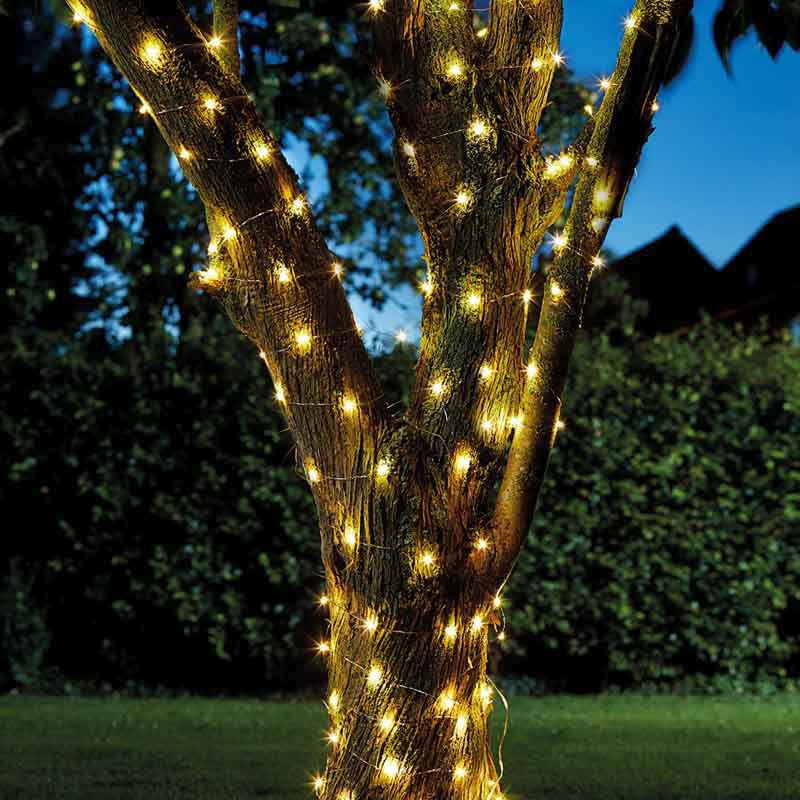 Bright Garden Solar Firefly 100 LED String Of Lights