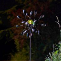 See more information about the Bright Garden Gemini Solar Windspinner