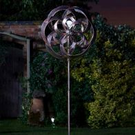 See more information about the Bright Garden Taurus Solar Windspinner