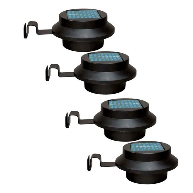 Bright Garden 4 Pack Solar Gutter Lights