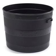 See more information about the Small Blacksmith Tub Black Planter