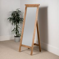 See more information about the Cotswold Cheval Mirror Oak