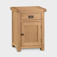 See more information about the Cotswold Small Cabinet Oak 1 Door 1 Drawer