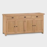 See more information about the Cotswold Sideboard Oak 4 Door