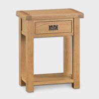 See more information about the Cotswold Telephone Table Oak 1 Drawer