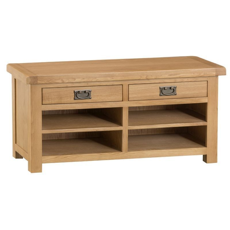 Cotswold Oak Home Hall Bench Furniture Buy Online At Qd Stores