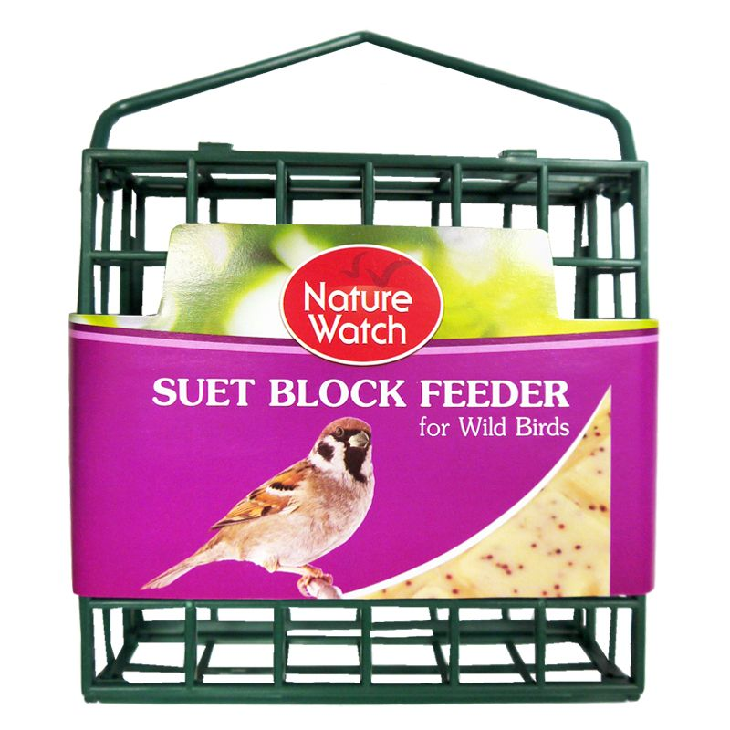 Nature Watch Suet Block Feeder