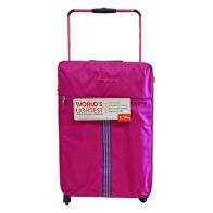 See more information about the IT Luggage 25 Inch Pink 4 Wheel Tourer Worlds Lightest Suitcase