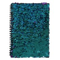 See more information about the A5 Spiral Sequin Colour Change Notebook