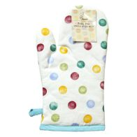 See more information about the Polka Dot Pattern Single Oven Mitt