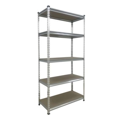 Image of 5 Tier Boltless DIY Shelving Storage Unit