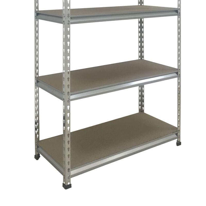 Diy Shelving Unit: Boltless DIY Shelving Storage Unit 180x90x40cm