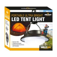 See more information about the Milestone Portable LED Camping Tent Light