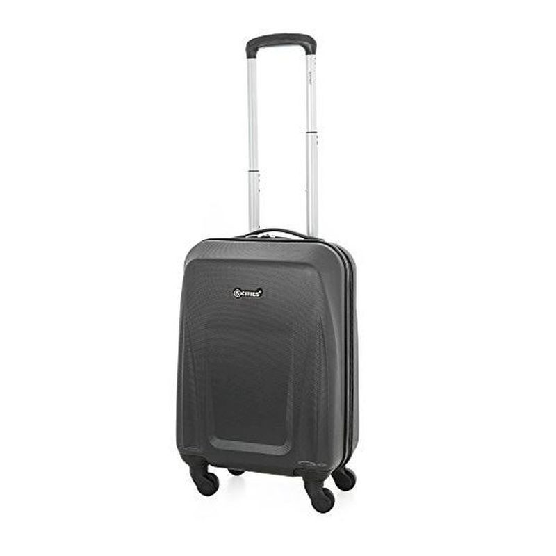 21 Inch Black 4 Wheel Suitcase