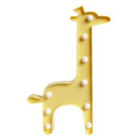 See more information about the Yellow Giraffe 9L LED Warm White Light