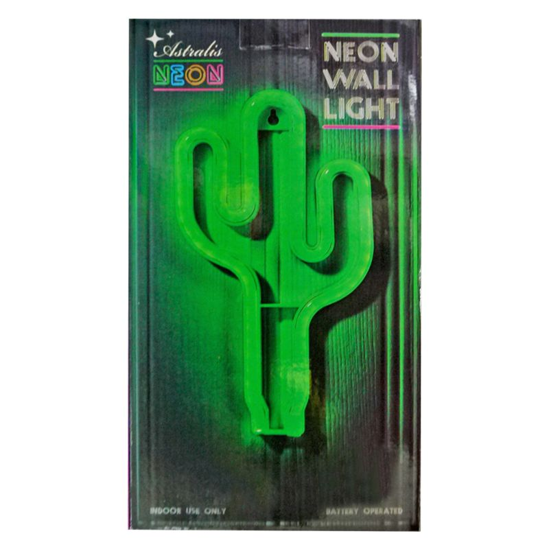 Cactus LED Neon Wall Light