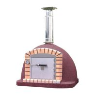 See more information about the Xclusive Outdoor Vulcano Wood Fired Pizza Oven 90cm Garden Cooker