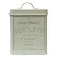 See more information about the Biscuit Country Kitchen Storage Jar Tin