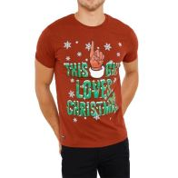 See more information about the Mens This Guy Christmas T-Shirt Red Small