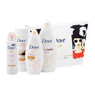 See more information about the Dove Beauty Through The Ages 1960s Wash Bag Gift Set