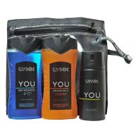 See more information about the Lynx You Wash Bag Energised Gift Set