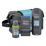 See more information about the Dove Men + Care Wash Bag Gift Set