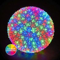 See more information about the 300 LED Multicolur Outdoor Animated Cherry Ball Light Mains 25cm