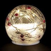 See more information about the Berry Filled Globe Light