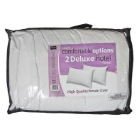 See more information about the Comfortable Options Hotel Filled Pillow Pair