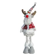 See more information about the Standing Reindeer With Hat & Scarf 18 Inch