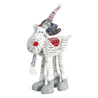 See more information about the Standing Reindeer With Hat & Scarf 22 Inch