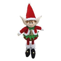 See more information about the Plastic Elf With Lights Christmas Novelty 45cm