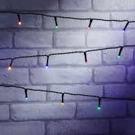 See more information about the 200 LED Multicolour Outdoor Animated Fairy Light String Battery 15m